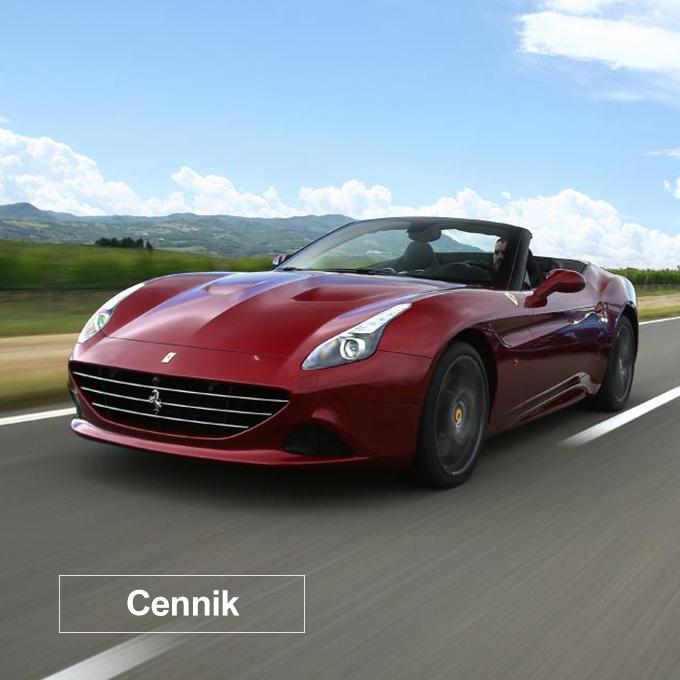 Cennik Ferrari California T - Escort Cars - Wypożyczalnia samochodów luksusowych