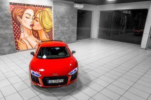 Audi R8 V10 Plus - Escort Cars - Wypożyczalnia samochodów luksusowych EscortCars Oświęcim